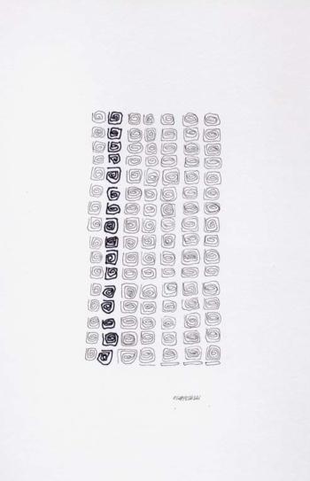 Sequence 14 - 2004 - inchiostro su carta - cm 15x23
