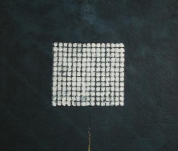 Kintsugi - 2018 - monotipo su carta su cellotex - cm 50x60