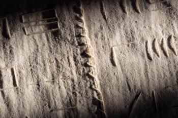 Libro d'artista ALPHABET - corda su carta intelata - cm 21x115 - 2020 (6)