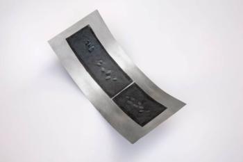 SHINGLE - tecnica mista su alluminio - cm 20x44x12 - 2019 (5)